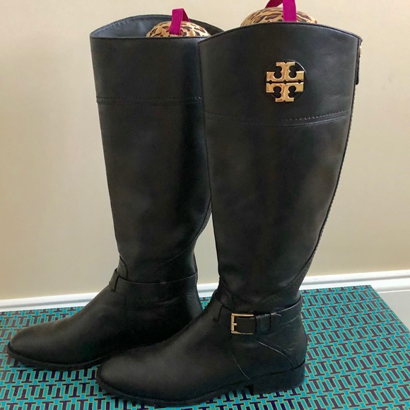 6987b26b3903 Wide Calf!! Tory Burch Adeline 20mm Riding Boot. M 5beebfc24ab6339a9ce7990e
